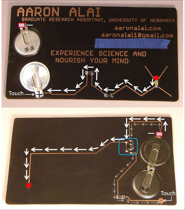37 uniquefunny business cards articles thoughts from framework this fully operational business card demonstrates how transistors amplify current colourmoves