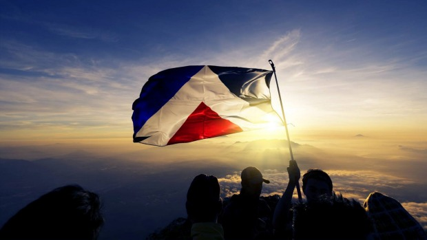 The Red Peak flag design left out of the final 4 designs is now included after public pressure